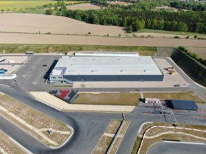 Arena E Rennstrecke mit Indoorhalle in Mülsen