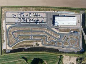 Luftaufnahme von der Arena E